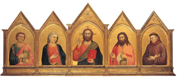 Peruzzi Altarpiece, c.1310 - c.1315 - Giotto