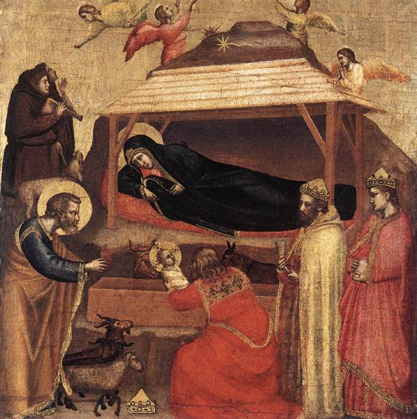 The Epiphany, c.1320 - Giotto