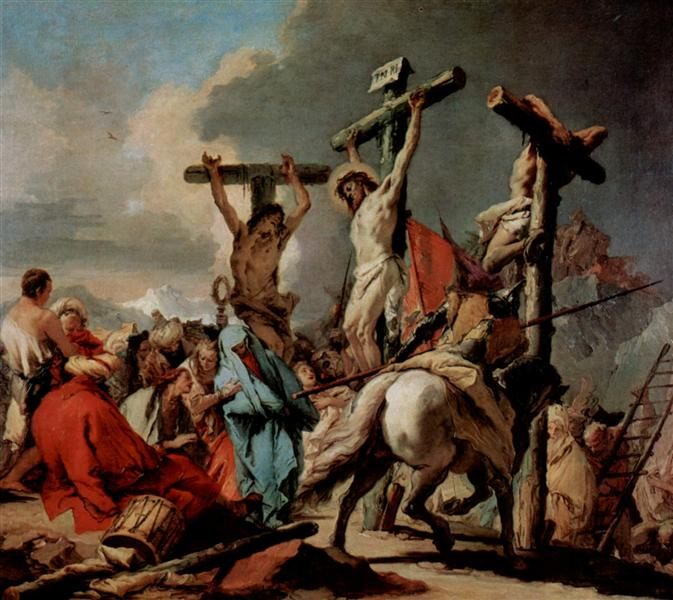 Crucifixion - Tiepolo Giovanni Battista
