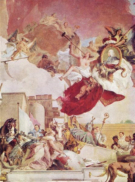Europa, 1750 - 1753 - Giovanni Battista Tiepolo