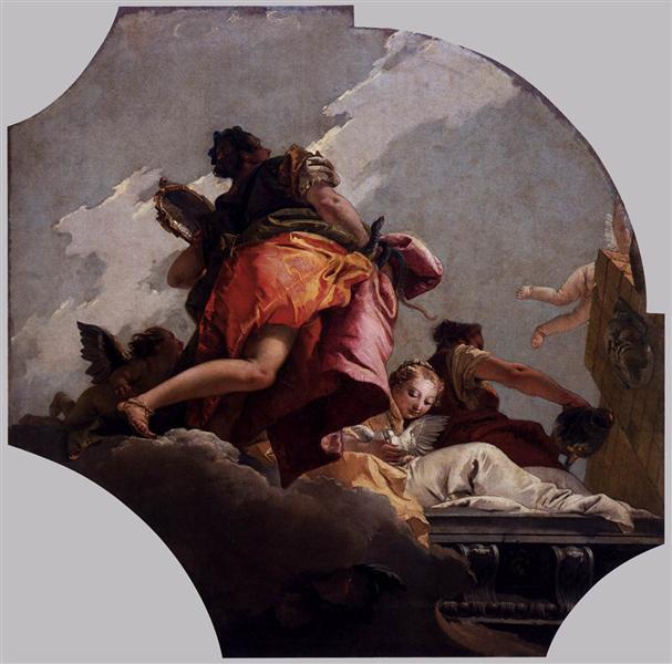 Prudence, Sincerity and Temperance, 1743 - Giovanni Battista Tiepolo