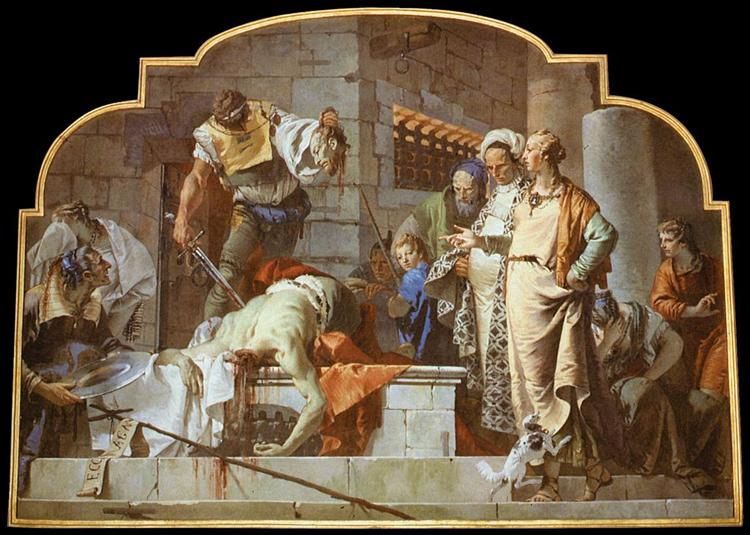 The Beheading of John the Baptist, 1732 - 1733 - Giovanni Battista Tiepolo