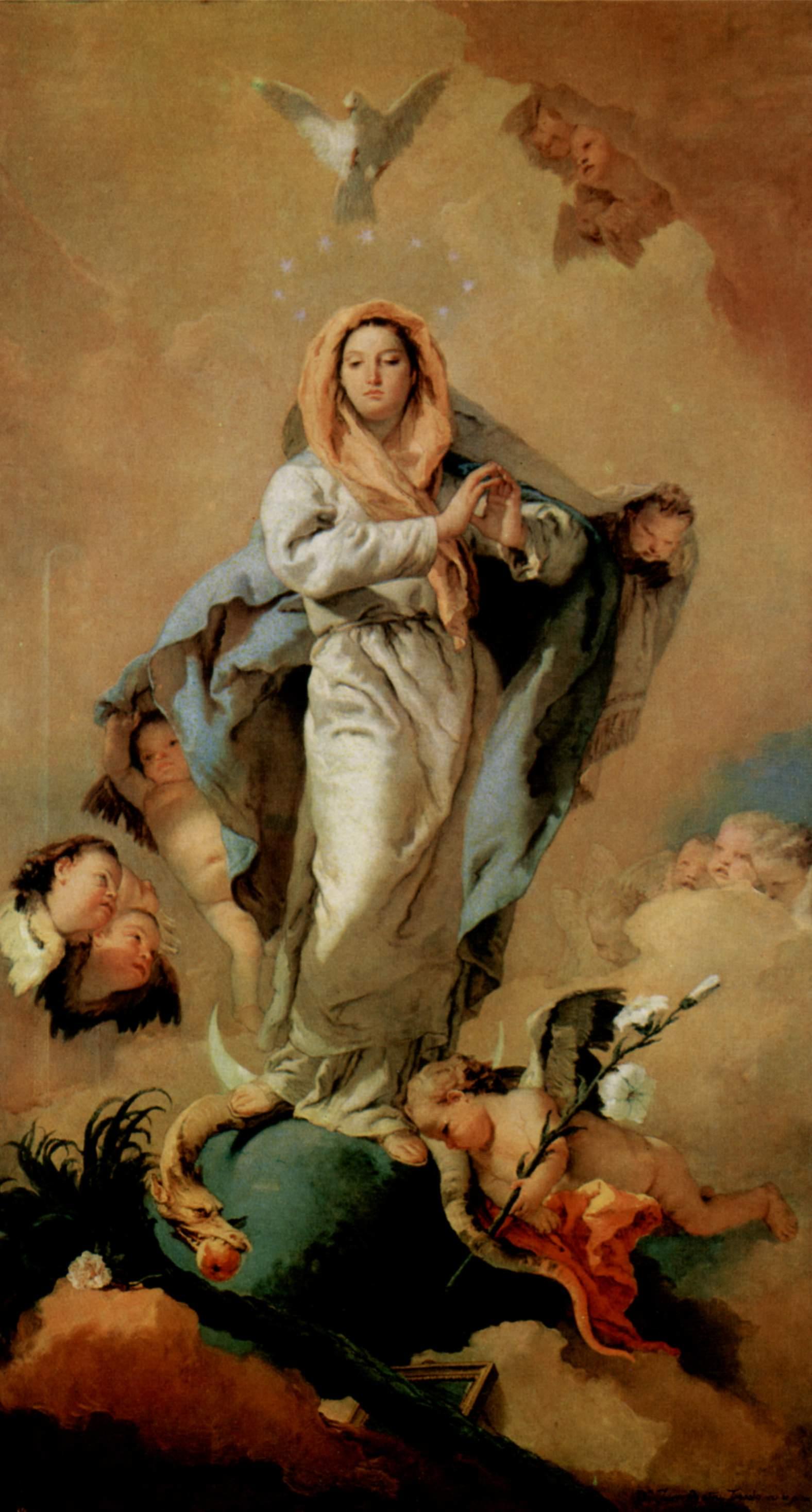 The Immaculate Conception 1767 1768 Giovanni Battista