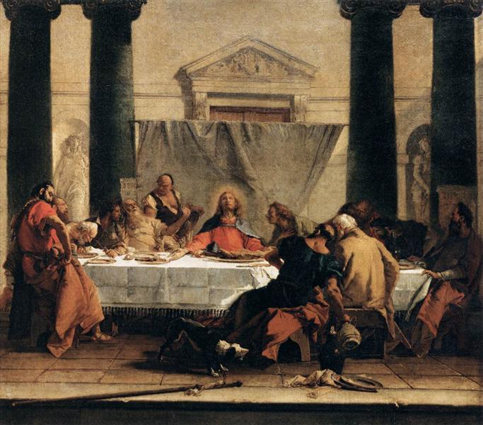 The Last Supper, 1745 - 1747 - Джованни Баттиста Тьеполо