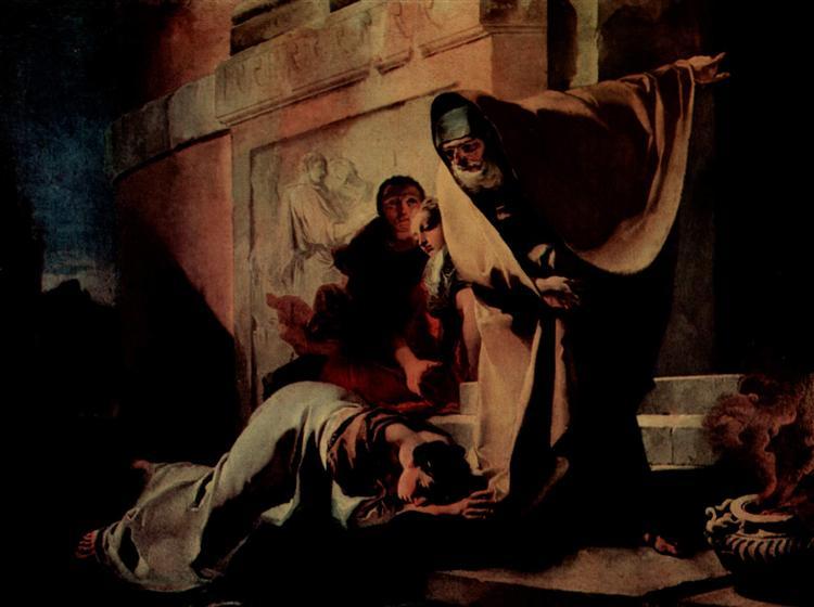 The Repudiation of Hagar, 1719 - Giovanni Battista Tiepolo