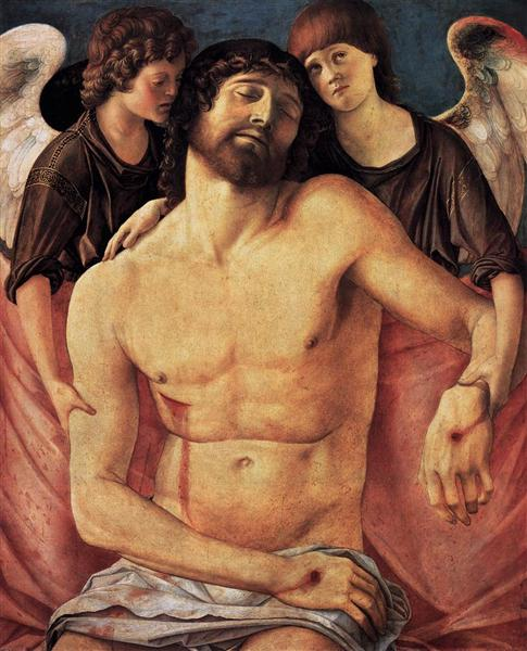 Dead Christ Supported by Angels, 1480 - 1485 - Giovanni Bellini