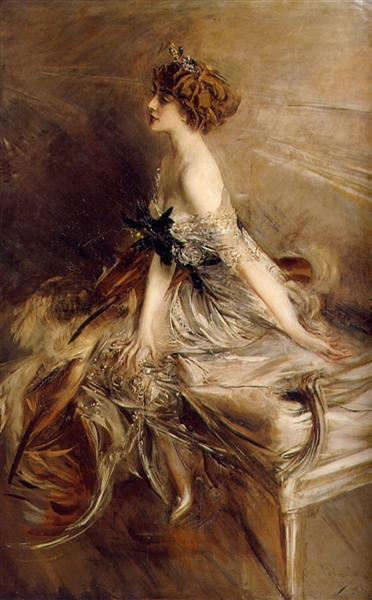 Portrait of Princess Marthe-Lucile Bibesco, 1911 - Giovanni Boldini