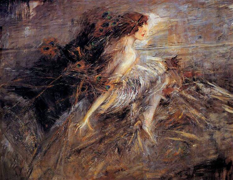Portrait of the Marquise, 1914 - Giovanni Boldini