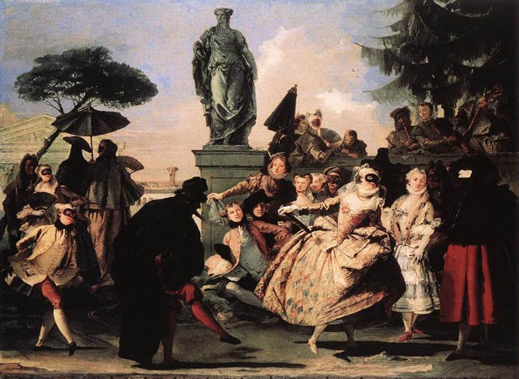 Minuet, 1756 - Giovanni Domenico Tiepolo