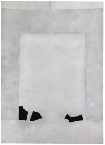 Lettera a Palladio No. 1, 1977 - Giuseppe Santomaso