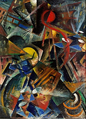 I gatuvimlet, 1917 - Gosta Adrian-Nilsson