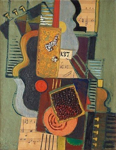Komposition med noter, 1921 - Gosta Adrian-Nilsson