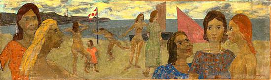 Beach Scene - Grégoire Michonze