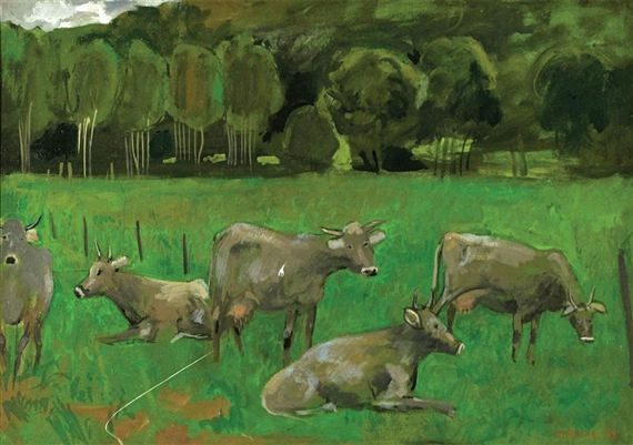 Cows at Pasture, 1969 - Grégoire Michonze
