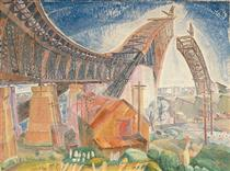 The Bridge in Curve - Grace Cossington Smith