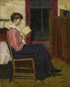 The Reader - Grace Cossington Smith