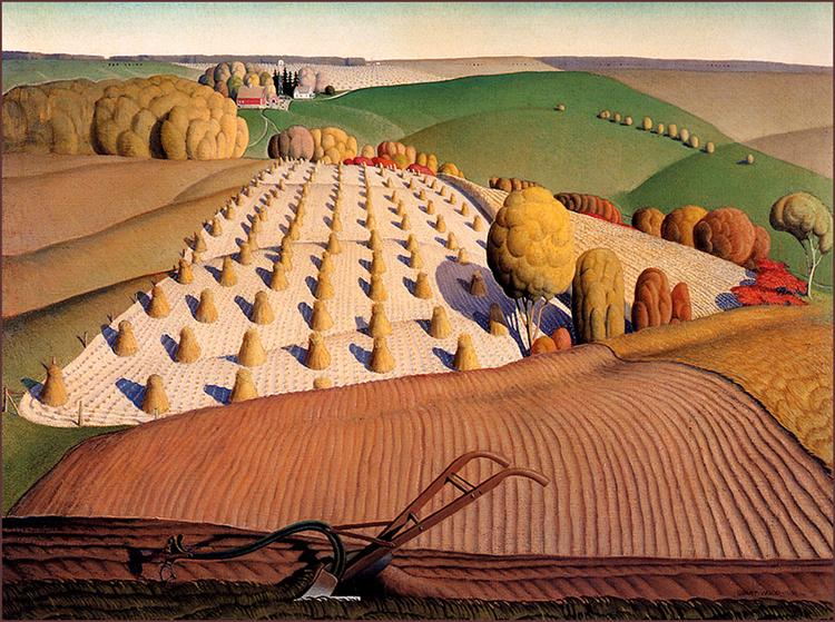 Fall Plowing, 1931 - Grant Wood