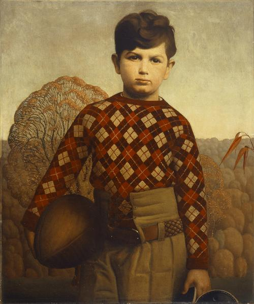 Plaid Sweater, 1931 - Grant Wood