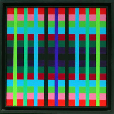 Contrastes chromatiques, 1975 - Gregorio Vardanega