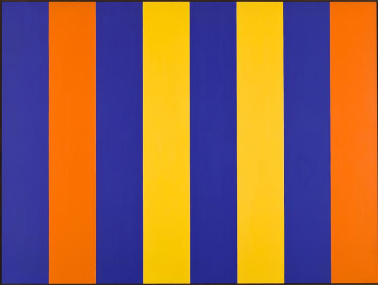 Orange-Blue Space, 1964 - Guido Molinari