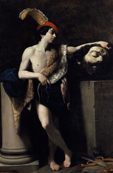David con la cabeza de Goliat - Reni Guido