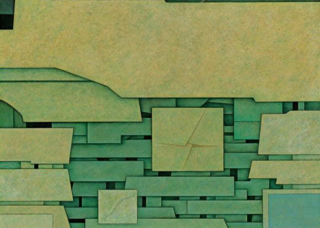 Paisaje Verde No. 1, 1969 - Гюнтер Герцо