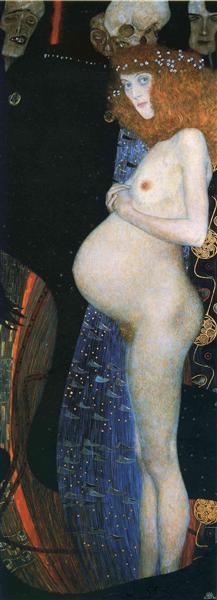 Hope I, 1903 - Gustav Klimt