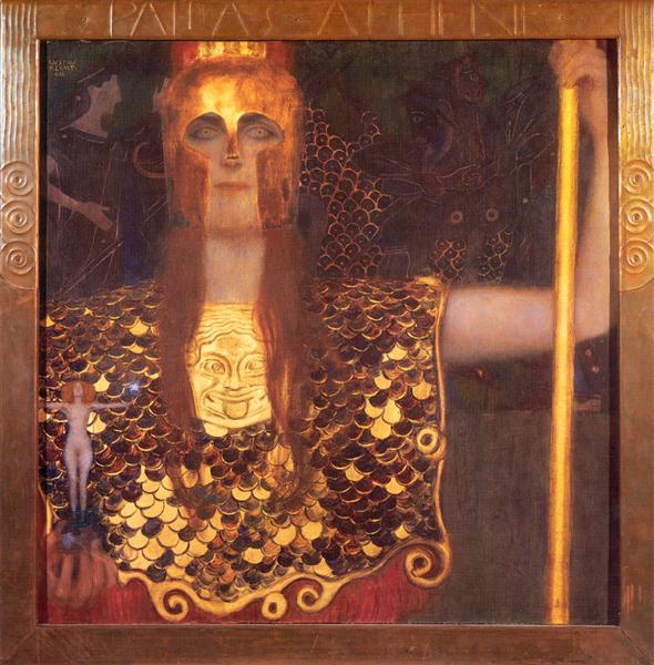 Minerva or Pallas Athena - Klimt Gustav