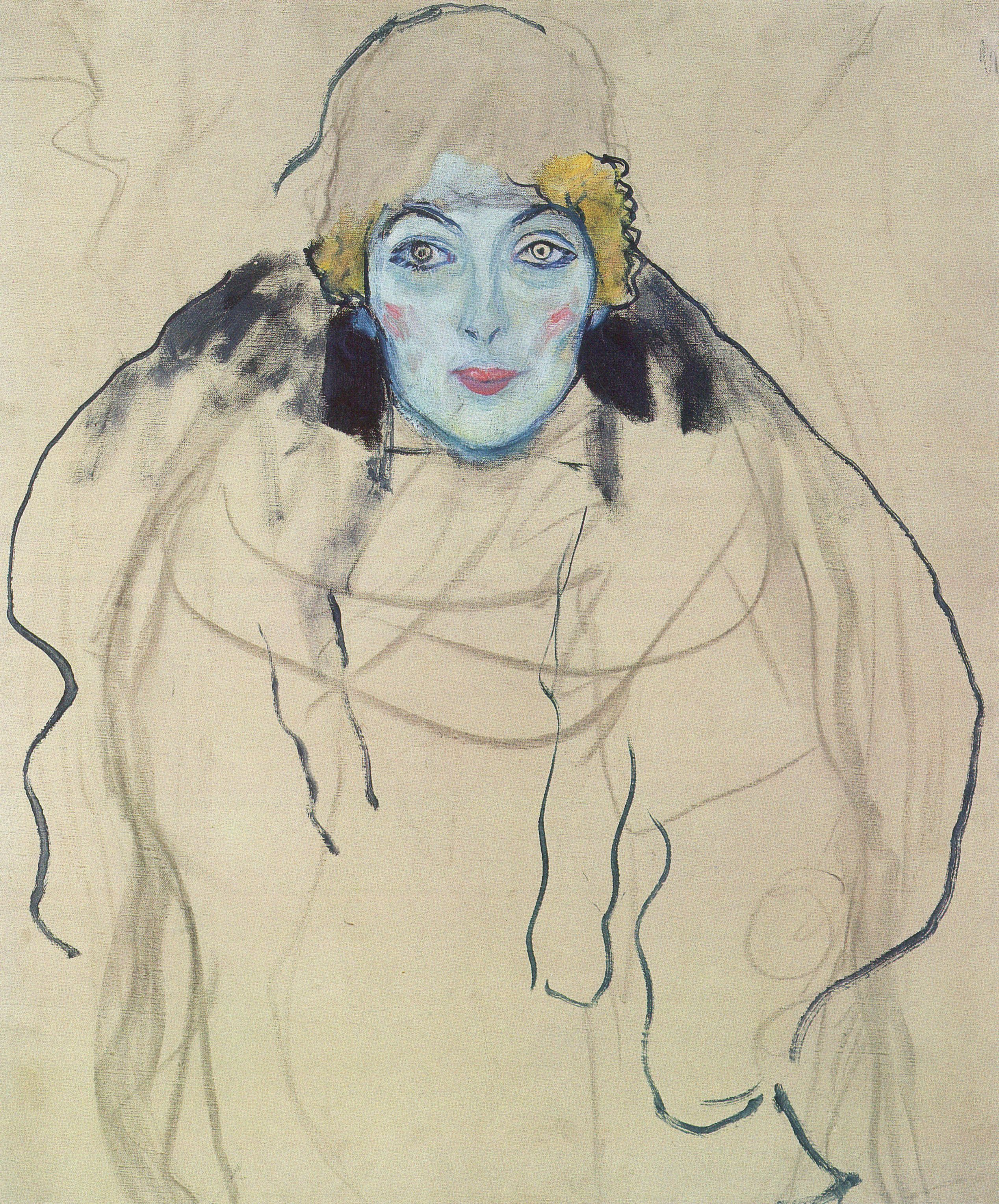 Portrait of a Lady (unfinished), 1917-1918
