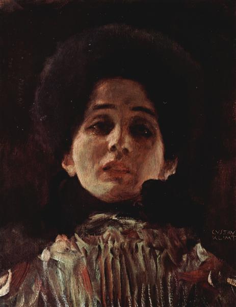 Portrait of a Woman, 1898 - 1899 - Gustav Klimt