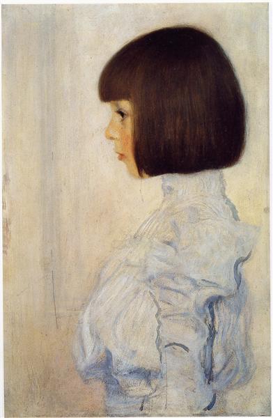 Portrait of Helene Klimt, 1898 - Gustav Klimt