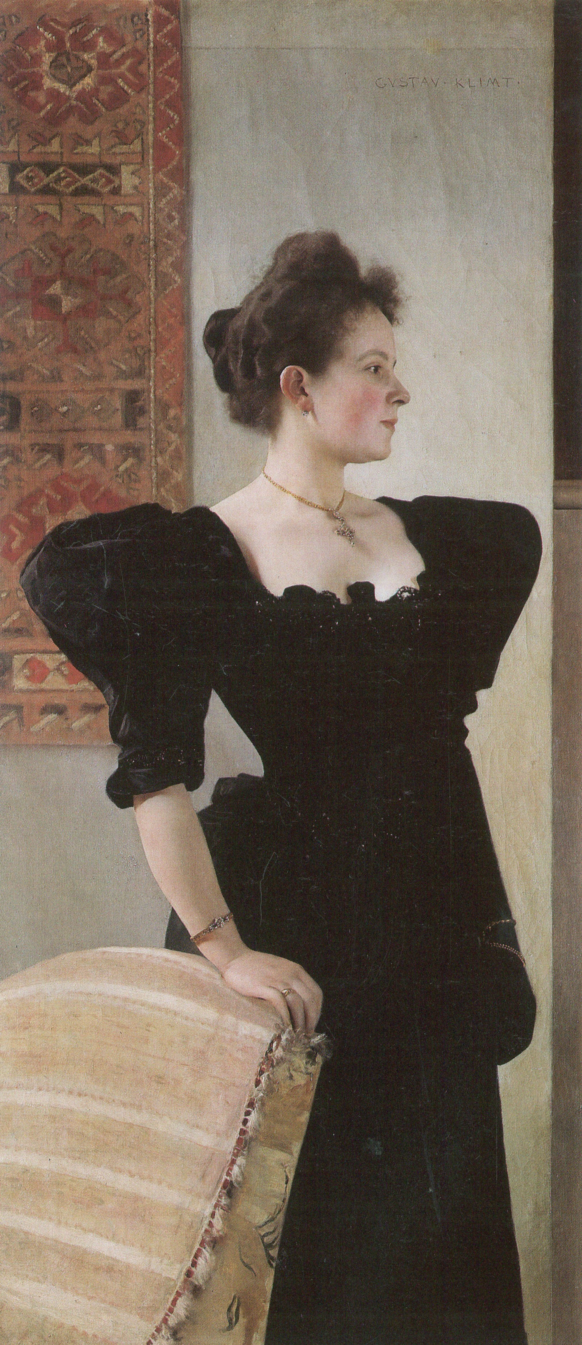 Portrait of Marie Breunig, 1894