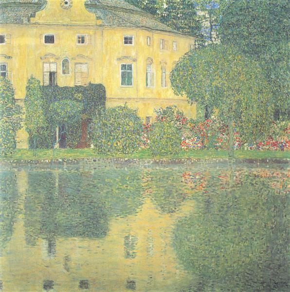 Schloss Kammer on the Attersee IV, 1910 - Gustav Klimt