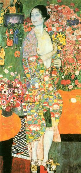 The dancer, 1916 - 1918 - Gustav Klimt