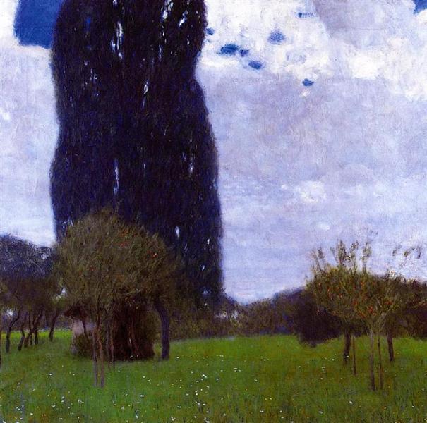The Tall Poplar Trees II, 1900 - Gustav Klimt