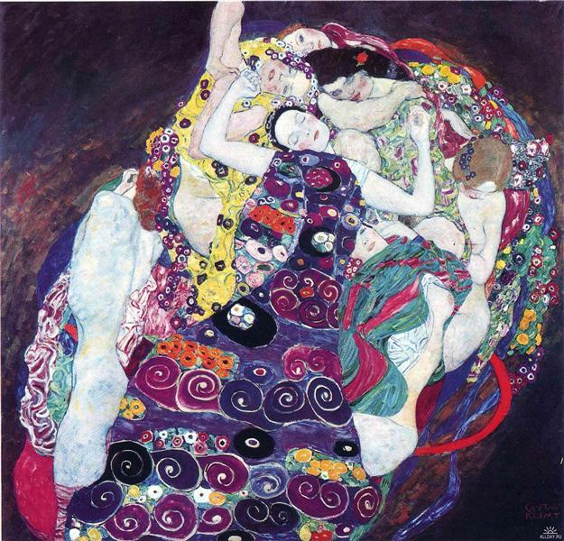 The Virgin, 1913 - Gustav Klimt