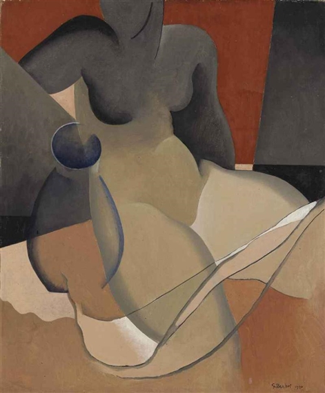 Frauenakt, 1930 - Гюстав Буше