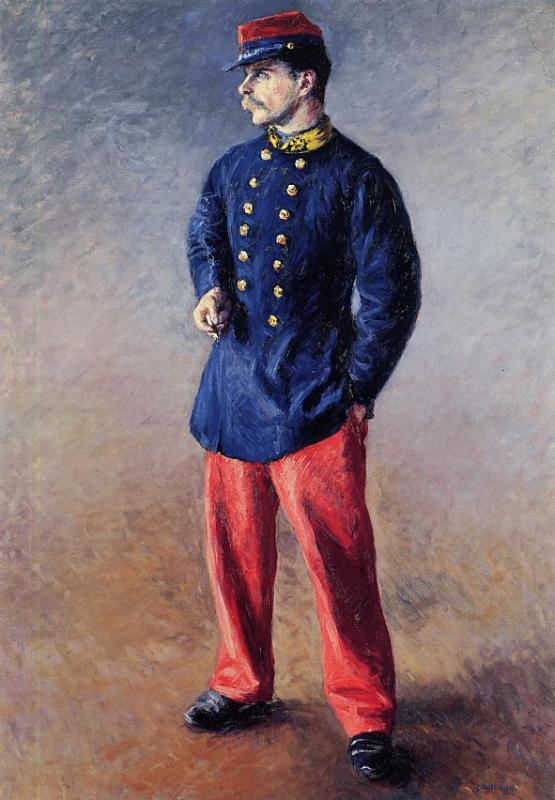A Soldier, 1881