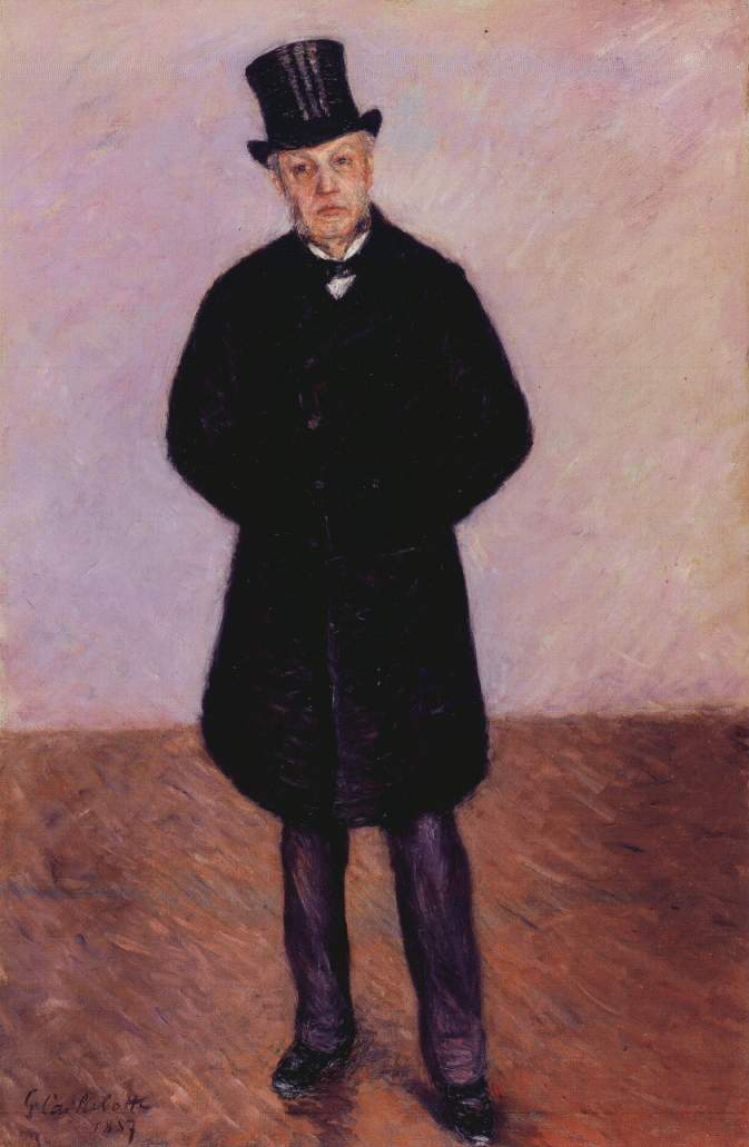 Portrait of Jean Daurelle, 1887