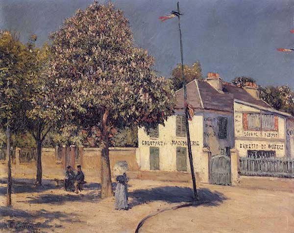 The Promenade at Argenteuil, 1883