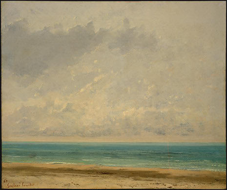 Calm Sea, 1866 - Gustave Courbet