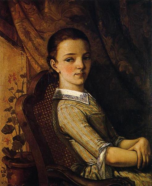 Juliette Courbet, 1844 - Gustave Courbet