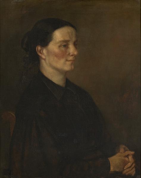 Juliette Courbet, 1873 - 1874 - Gustave Courbet