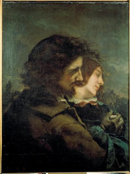 The Happy Lovers, 1844 - Gustave Courbet