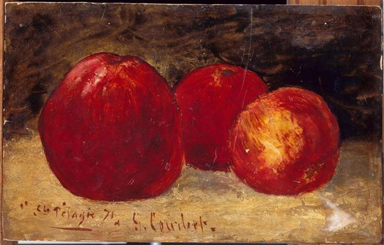 Three Red Apples, 1871 - Gustave Courbet