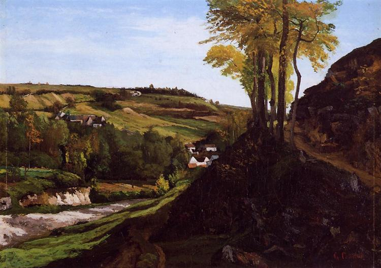 Valley of Ornans, 1858 - Gustave Courbet