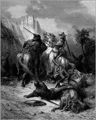 A Heroine Florine of Burgundy - Gustave Dore
