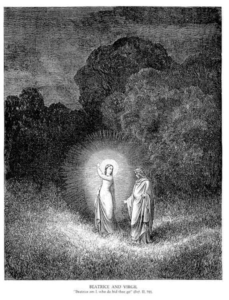 Beatrice & Virgil - Gustave Dore