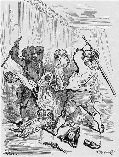 Illustration for Baron von Münchhausen - Gustave Dore