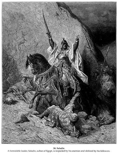 Saladin - Gustave Dore